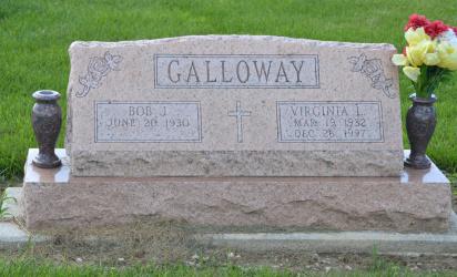 Children Of Virginia Lee HERTEL And Bob GALLOWAY Were